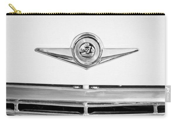 Checker Taxi Cab Emblem Carry-all Pouch