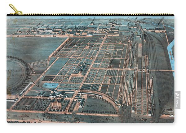 Chicago Stockyards, 1878 Carry-all Pouch
