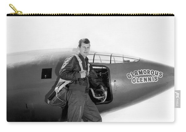 Chuck Yeager And Bell X-1 Carry-all Pouch