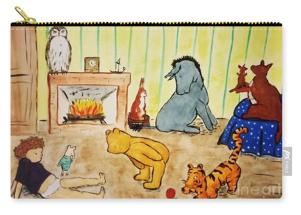 Classic Winnie The Pooh And Friends Carry-all Pouch