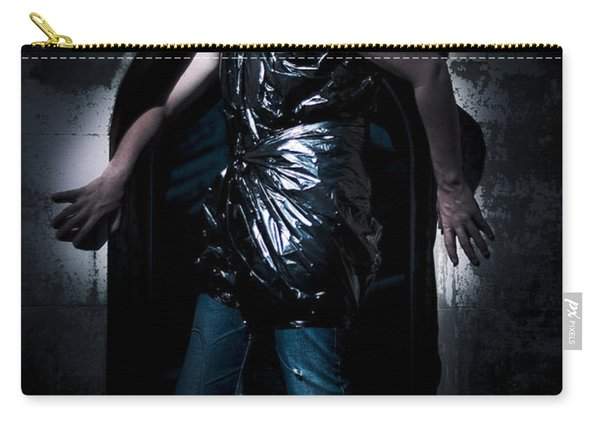 Cleaner Backed Against A Wall Carry-all Pouch
