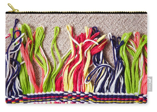 Colorful Carpet Carry-all Pouch