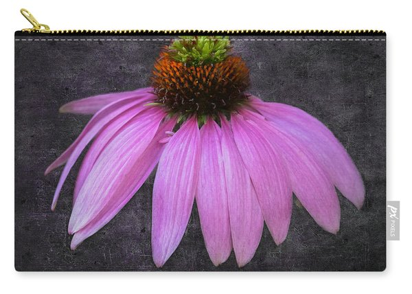 Carry-all Pouch featuring the photograph Cone Flower by Garvin Hunter