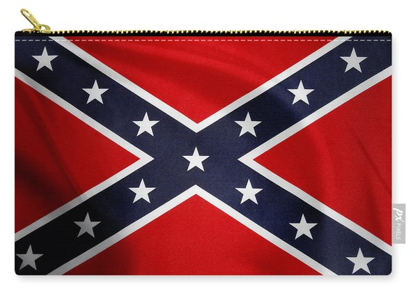 Confederate Flag 5 Carry-all Pouch
