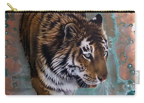 Copper Tiger I  Carry-all Pouch
