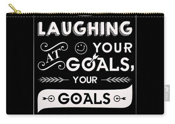 Corporate Startup Quotes Poster Carry-all Pouch