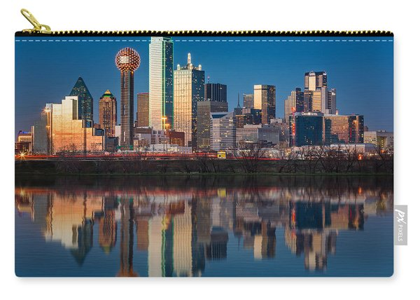 Dallas Skyline Carry-all Pouch