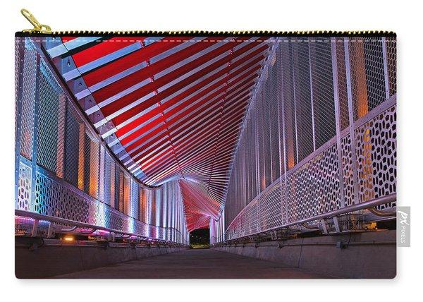 Double Helix Footbridge Carry-all Pouch