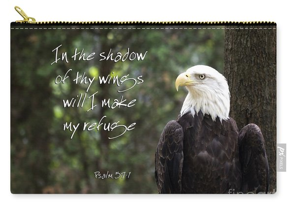 Eagle Scripture Carry-all Pouch