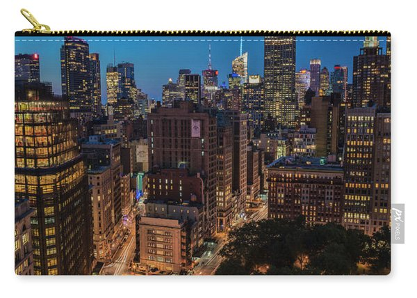 Empire State Building At Twilight Carry-all Pouch