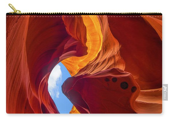Carry-all Pouch featuring the photograph Enduring Beauty  by Dustin  LeFevre