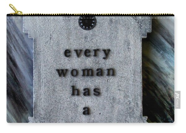 Every Woman Has A Name Carry-all Pouch