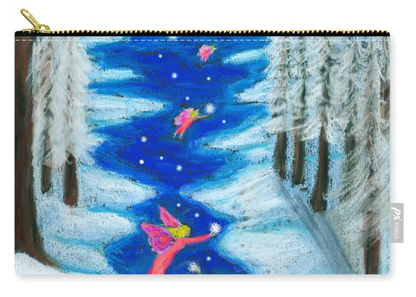 Faery Merry Christmas Carry-all Pouch