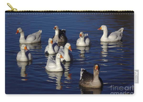 Family Goose Carry-all Pouch