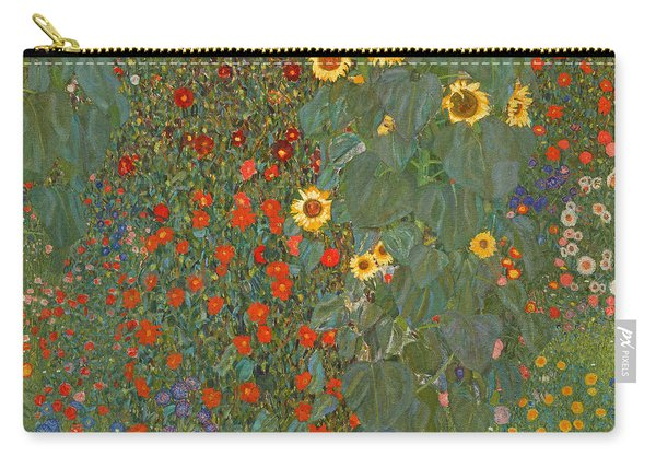 Farm Garden With Sunflowers Carry-all Pouch