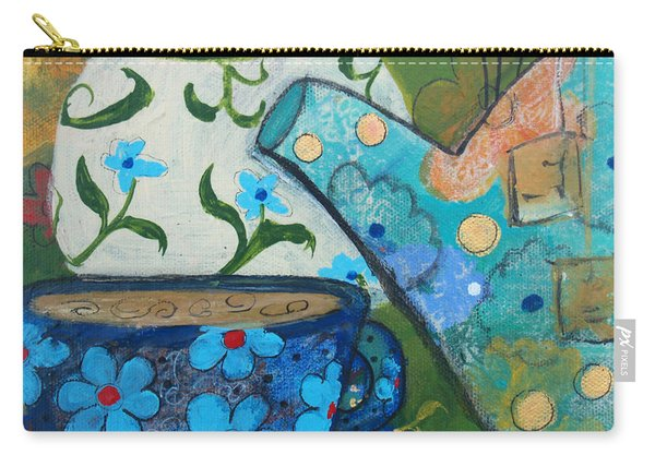 Floral Tea Carry-all Pouch