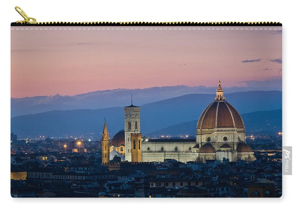 Florence At Sunset Carry-all Pouch