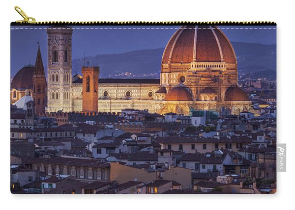 Carry-all Pouch featuring the photograph Florence Duomo by Brian Jannsen