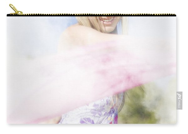 Foggy Field Frolic Carry-all Pouch
