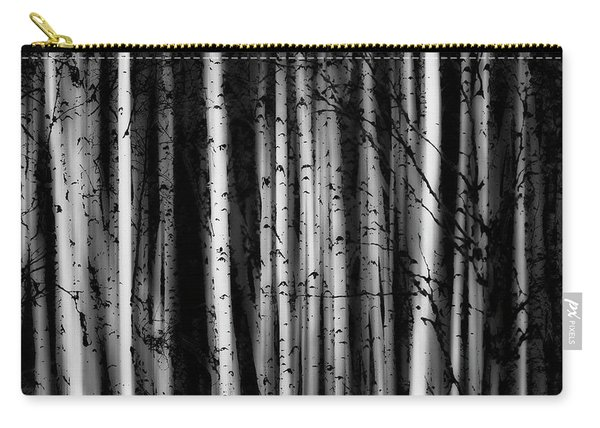 Forest Of Birch Trees  Alberta, Canada Carry-all Pouch