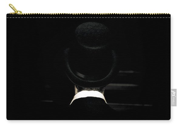 Funeral Director Sitting In Pew Carry-all Pouch