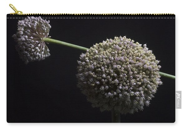 Garlic Flowers. Allium. Carry-all Pouch