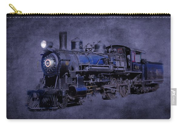 Carry-all Pouch featuring the photograph Ghost Train by Gunter Nezhoda