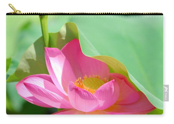 D48l-96 Water Lily At Goodale Park Photo Carry-all Pouch