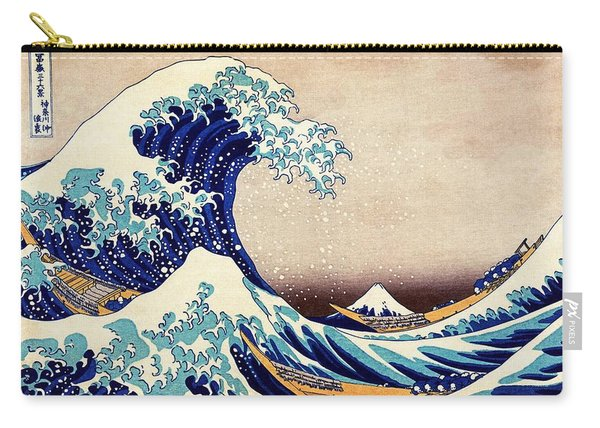 Great Wave Off Kanagawa Carry-all Pouch