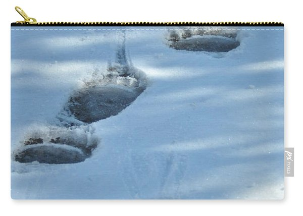 Grizzly Bear Tracks Carry-all Pouch