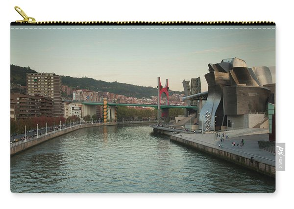 Guggenheim Museum Designed By Frank Carry-all Pouch