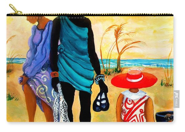 Gullah-creole Trio  Carry-all Pouch