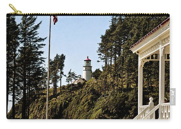 Heceta Head Lighthouse - Texture Carry-all Pouch