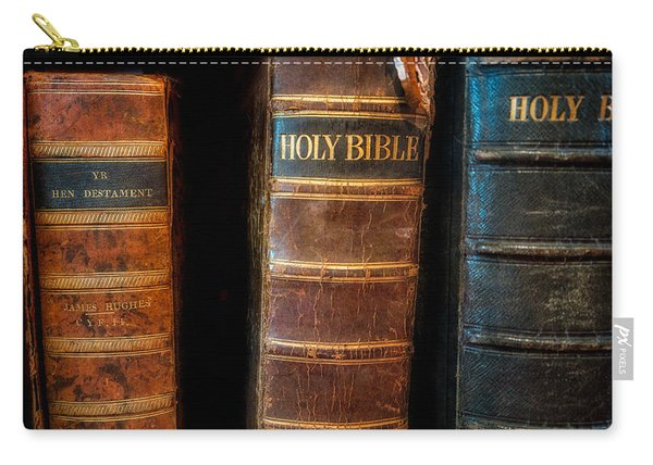 Holy Bibles Carry-all Pouch