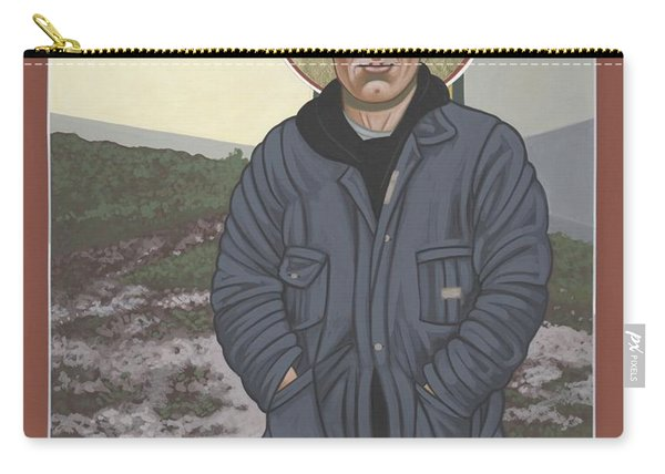 Holy World Evangelist Thomas Merton 267 Carry-all Pouch
