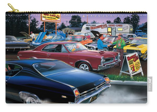 Honest Als Used Cars Carry-all Pouch