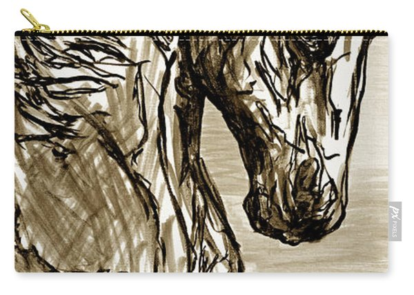 Horse Twins I Carry-all Pouch