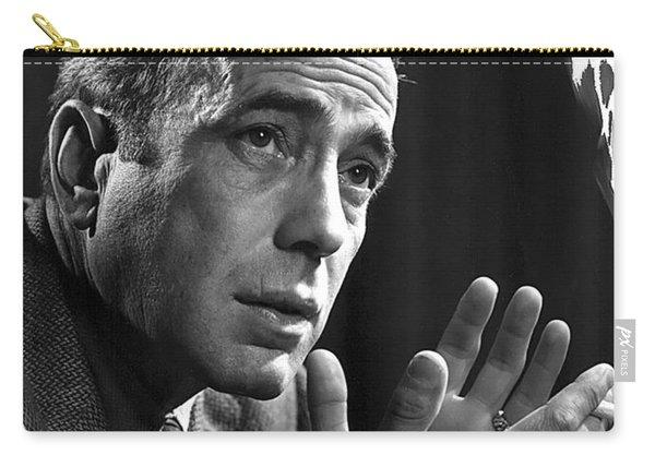Humphrey Bogart Portrait 2 Karsh Photo Circa 1954-2014 Carry-all Pouch
