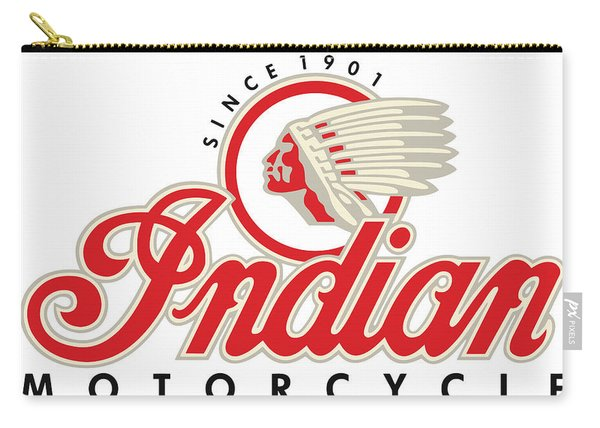 Indian Motorcycle Logo Carry-all Pouch