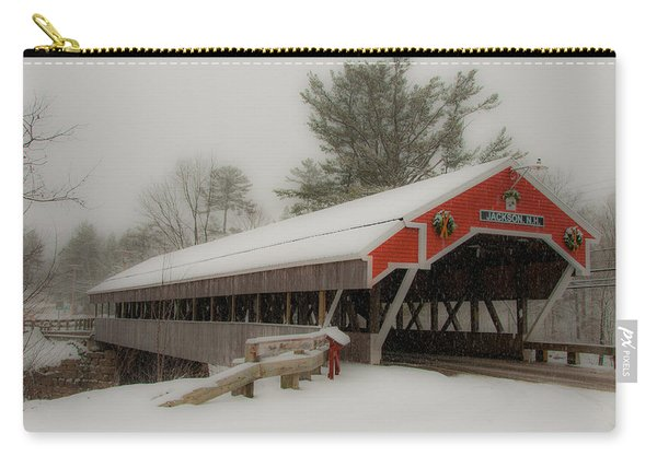 Jackson Nh Covered Bridge Carry-all Pouch