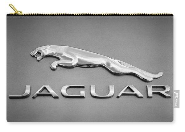 Jaguar F Type Emblem Carry-all Pouch