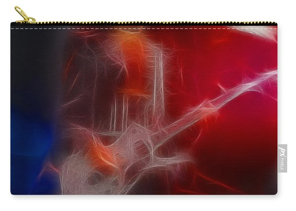Kiss-paul-a13-fractal Carry-all Pouch