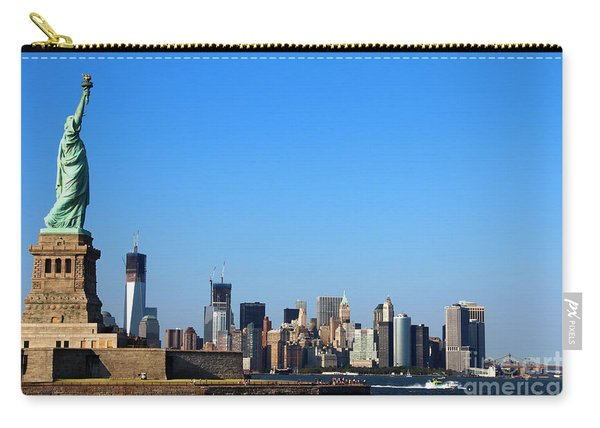 Lady Liberty Watches 1wtc Rise Carry-all Pouch