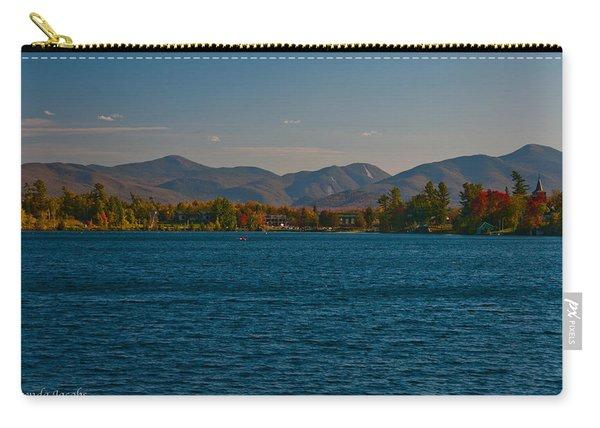 Lake Placid And The Adirondack Mountain Range Carry-all Pouch