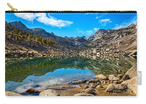 Lake Sabrina In Bishop Creek Canyon. Carry-all Pouch