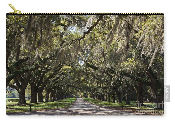 Live Oaks Carry-all Pouch