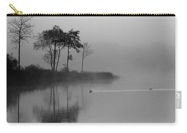 Loch Ard Trees In The Morning Mist Carry-all Pouch