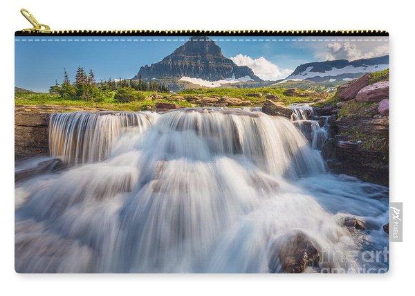 Logan Pass Cascades Carry-all Pouch