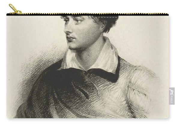 Lord Byron, English Romantic Poet Carry-all Pouch