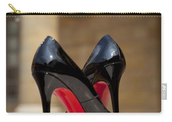 Carry-all Pouch featuring the photograph Louboutin Heels by Brian Jannsen
